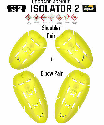 Forcefield CE Level 2 Shoulder Elbow Protection Biker Jacket Armour Pads Upgrade