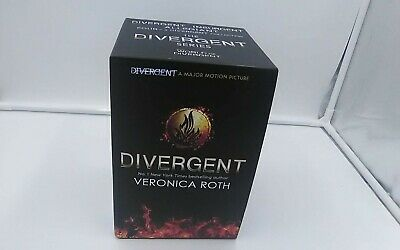 Divergent Series 4 Book Box Set By Veronica Roth