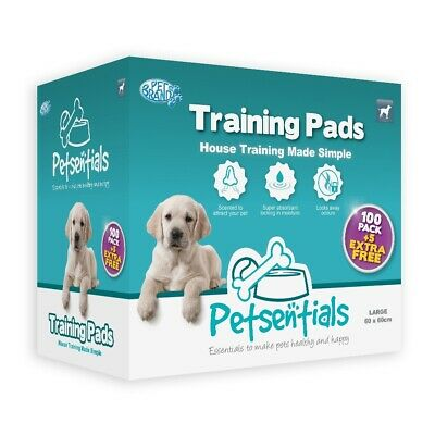 Petsentials Puppy Training Pads 105 Pack *DAMAGED PACKAGING*