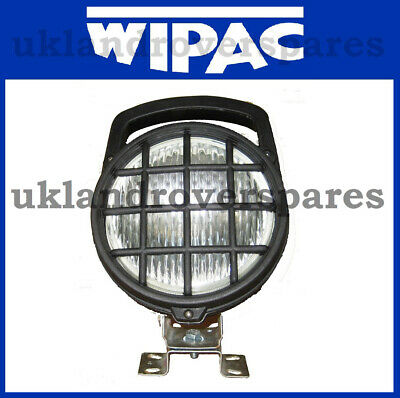 Work Lamp, Swivel & Tilting, 12 Volt, with Handle & Lens Guard, Universal Fit.