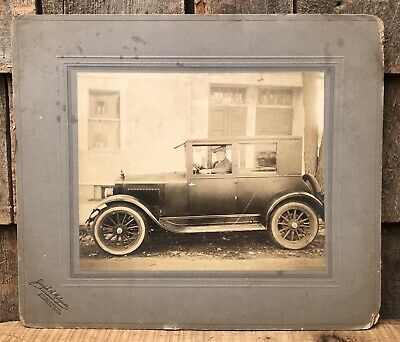 Antique Early 1900's ESSEX Auto Car Photograph 12x14