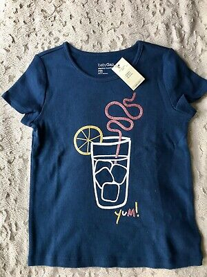 NWT Baby Gap Toddler Girls Playtime Favorite T-Shirt Top Size 5T
