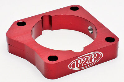 Throttle Body Spacer Red Acura TSX 2009 2.4L Free Shipping