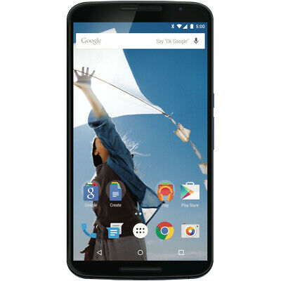 Motorola NEXUS 6 64GB Midnight Blue Unlocked XT1103 5.96'' Smartphone z