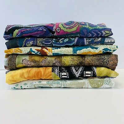 30 x MENS CRAZY PATTERN SHIRTS - GRADE A - BULK VINTAGE WHOLESALE