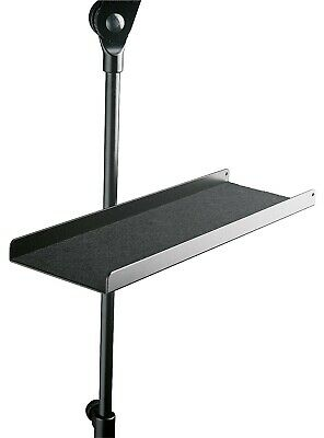 K&M Music Stand Tray Black - Quality Construction Built To Last