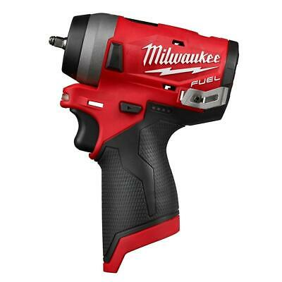 Milwaukee 2552-20 M12 FUEL 12-Volt Brushless Stubby 1/4 in. Impact Wrenh  Only
