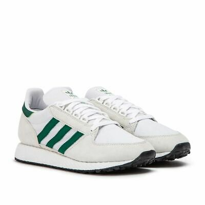adidas Forest Grove B41546 Mens Trainers~RRP £70~Most Sizes~White Green~Sale!