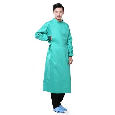 Men Women Scrubs Tops Hospital Work Clothes Meidcal Doctor Surgical Gown Unisex