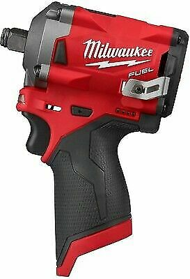 Milwaukee 2555-20 M12 FUEL 12-Volt Brushless Stubby 1/2 in. Impact Wrenh Only