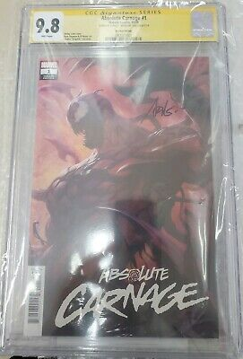 Absolute Carnage #1 Artgerm Variant CGC SS 9.8 Signature Series IN HAND
