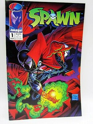 Spawn #1 (1992) Image Comic Book - Todd McFarlane - Never Read - NM - 1st Issue