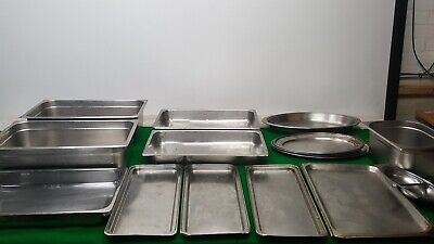 Job lot of Commercial Catering Equipment Chaffing Dishes, Platter dishes