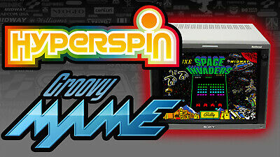 HyperSpin GroovyMAME Arcade PC - 7TB Hard Drive - Ready For CRT TV Monitor & PVM