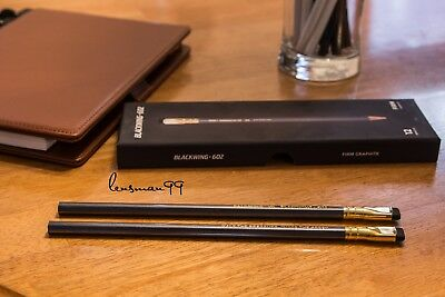 Blackwing Pencil Pair - 602  Firm - New - From USA - Two Pieces