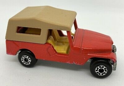 Matchbox Superfast No53 CJ6 Jeep Lesney 1977 Diecast Toy Car Model