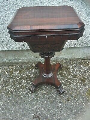 Antique Rose-wood sewing table