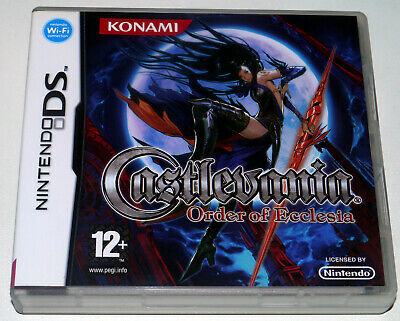 Castlevania: Order of Ecclesia (DS) - NEW - UNSEALED - UK Retail Stock