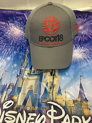 New With Tags Authentic Disney Parks Epcot World Showcase Adult Baseball Hat Cap