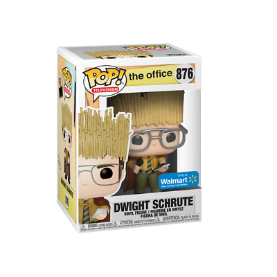 !MINT! Funko Pop The Office Dwight Schrute Hay King Walmart Exclusive Edition