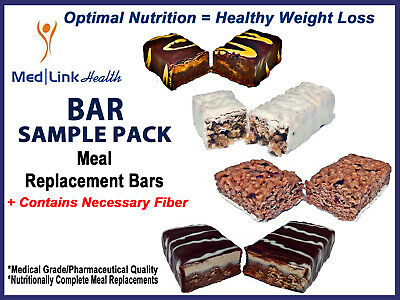 BAR SAMPLE PACK Meal Replacement Bars  | Weight Loss | SIMILAR TO Optifast® 800