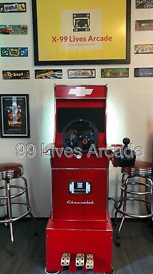 Arcade1up Driving Cabinet And G29 Steering Wheel