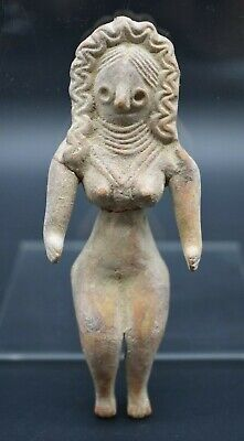 Indus Valley Harappan culture terracotta fertility idol C. 2200 - 1800 BC