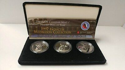 Royal Canadian Mint / Hockey Hall of Fame - 1997 Inductee Medallion Collection