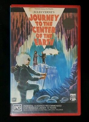 Journey to the centre of the earth VHS Exrental