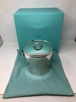 Tiffany 1837 Sterling Silver Ice Bucket / Wine Cooler No Mono