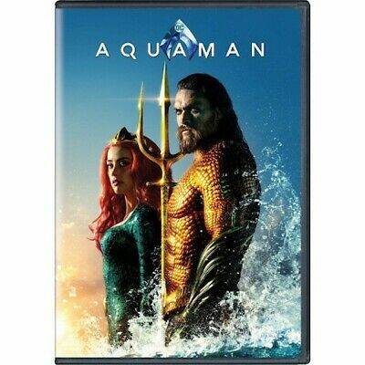 Aquaman DVD 2 Disc Special Edition Set New & Sealed Jason Momoa Free Shipping