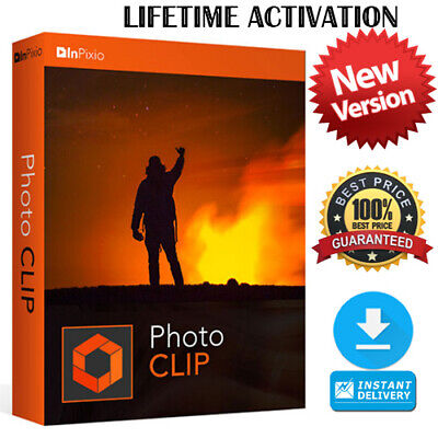 InPixio Photo Clip 9 PRO Latest Full Edition ☑ Download link ☑ Serial Key 5PCs🔥