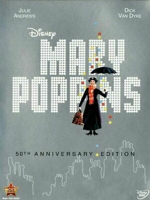 Mary Poppins (DVD, 2013) New & Sealed Free Shipping Included!