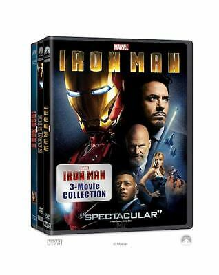 Iron Man 1, 2, and 3 Complete 3-DVD Trilogy Set New & Sealed Free Shipping