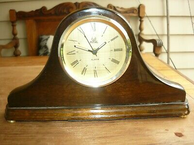 As new vintage style Mantle Clock - Pearl brand with alarm in excelt condition.