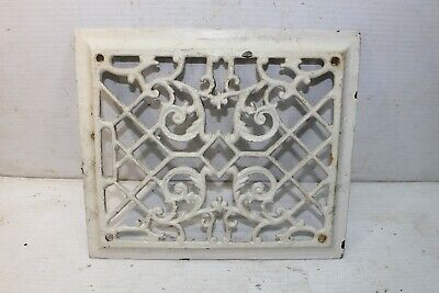 Antique Vintage Cast Iron Heat Vent Grate Victorian House Register ART DECO