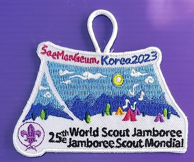 2023 World scout Jamboree patch by KSA #1 / world scout jamboree 2019