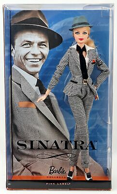 Frank Sinatra Barbie Collector Doll Pink Label Collection T7908 NRFB 2011 Mattel