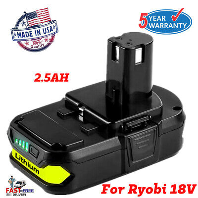 For Ryobi One Plus 18V P108 Max Lithium Ion Battery Replaces P104 P102 P107 P190