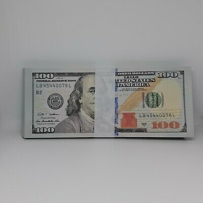 New super realistic Prop Movie Money $10000 for YouTube Videos FAKE MONEY