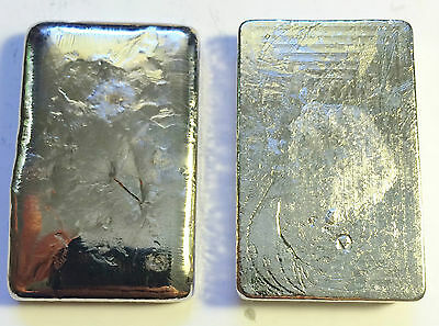 "3 OZ 99.9% Pure BISMUTH SPM Bullion "" Hand Poured"" Ingot (Great Investment)"