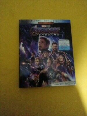 Marvel Avengers Endgame Blu-ray with  Slipcover Free Shipping no DIGITAL