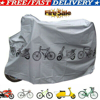 Bike Bicycle Cycling Rain And Dust Protector Cover Waterproof Protection UV
