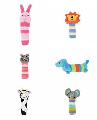 Annabel Trends Knit Hand Rattle Cute Cuddly Soft Toy Plushie Comfort Gift