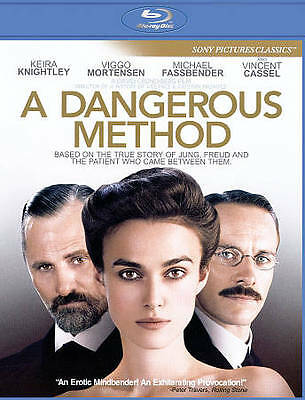 """""""A Dangerous Method"""" Keira Knightley (Blu-Ray Disc, 2012) In Like New Condition!"""
