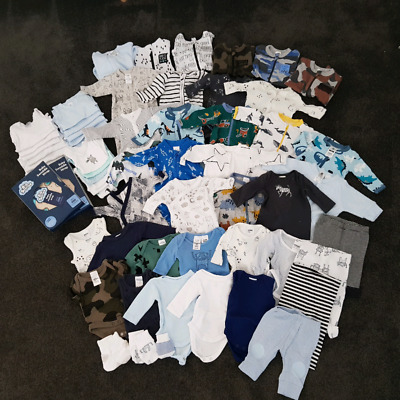 Huge Bulk Lot of Baby Clothes Size 00000 tiny small premature premmie