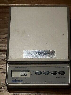 Pelouze PS5DL Digital Postal RATE CALCULATING Scale  5LB Internet Ready USED