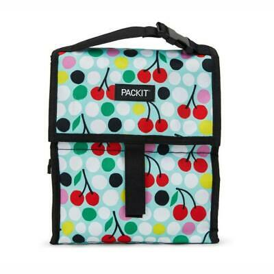 NEW PACKIT(R) | Freezable Lunch Bag 4.5L - Cherry Dots PRIMAX Botanex