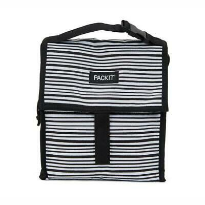 NEW PACKIT(R) | Freezable Lunch Bag 4.5L - Wobbly Stripes PRIMAX Botanex
