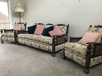 Antique couch and chairs